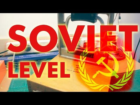 Cleaning & Repairing New Old Stock Soviet Precision Level
