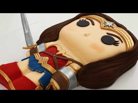 Justice League WONDER WOMAN Cake!