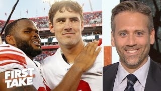 'Danny Dimes' is really good - Max Kellerman apologizes for doubting Daniel Jones   First Take