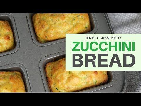 Zucchini Bread   4 NET CARBS   #gfcf   #coconutflourrecipe   #keto   #kidfriendly   #gfcf   #lchf