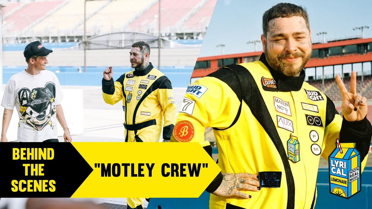 """Behind The Scenes of Post Malone's """"Motley Crew"""" Music Video"""
