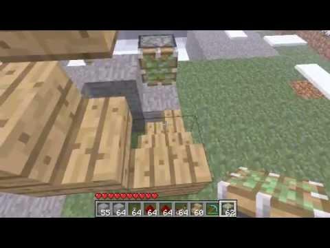 Minecraft - Redstone Elevator tutorial Pistons [1.7.3]