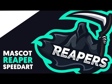 Adobe Illustrator   Mascot   REAPER   Shard
