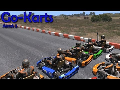 ArmA 3: Go-Karts - Race of the Week