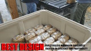 Mushroom steamer 10 hours 900 - 1200 pot steam, height