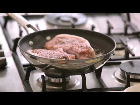 Raymond Blanc's best ever pan fried pork chops