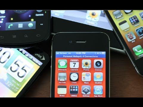 Verizon iPhone: Mobile Hotspot Demo