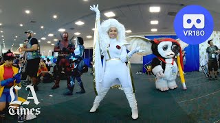 Cosplayers of San Diego Comic-Con 2019 in VR180