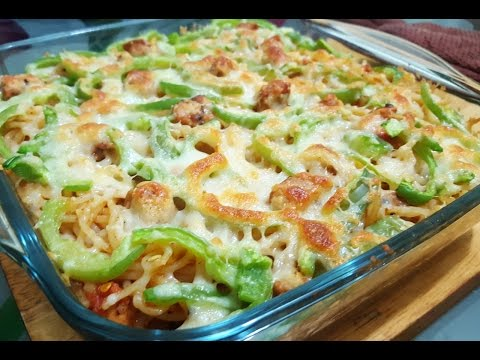 Chicken Cheese Spaghetti BY Yes I Can Cook