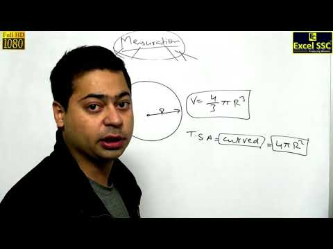 SSC CGL Maths: Mensuration Demo 1 - by Nipun Sir (Excel SSC Classes)