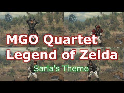 Metal Gear Online LEGEND OF ZELDA - Saria's Theme