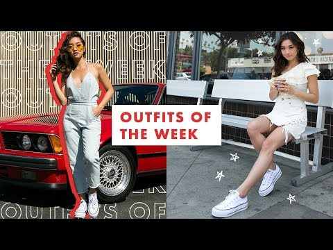 Outfits of the Week   Summer Lookbook