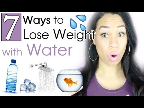 How to Lose Weight with Water - 7 INCREDIBLE Ways