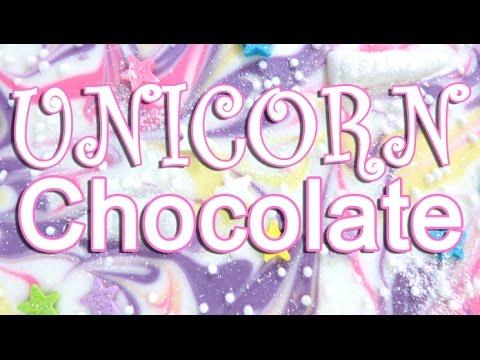 How To Make DIY Chocolate UNICORN Bark!