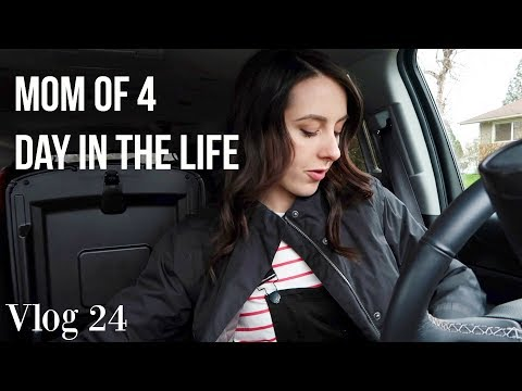 VLOG 24. Mom Of 4 - Day In The Life