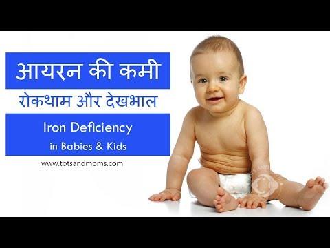 बच्चों में आयरन की कमी | रोकथाम और देखभाल | Iron Deficiency in Babies in Hindi