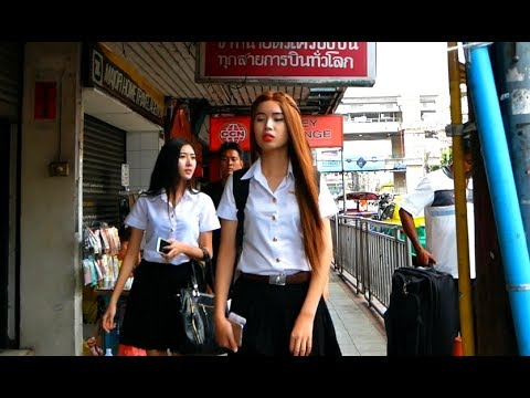 Pratunam Market & Ratchathewi District - Bangkok, Thailand 2017