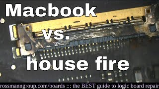Can Macbook be repaired after fire?