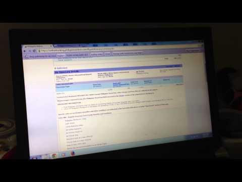 Philippine Airlines Online Booking - Working With Multiple Tabs Within a Browser