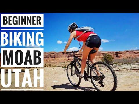 Best Beginner Mountain Biking Trail in Moab Utah