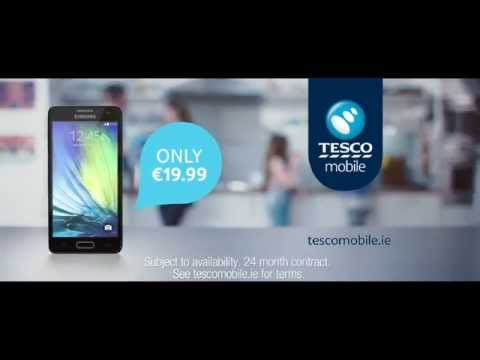 Flick The Switch - Samsung Galaxy A3 | Tesco Mobile