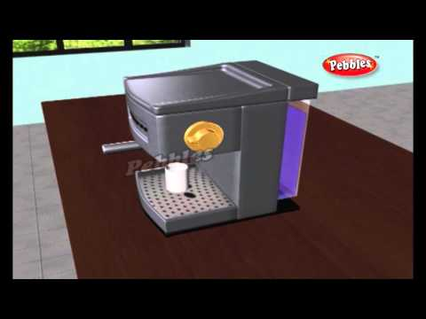 How does a Coffee Maker Work | How Stuff Works | How Devices Work in 3D | Science For Kids