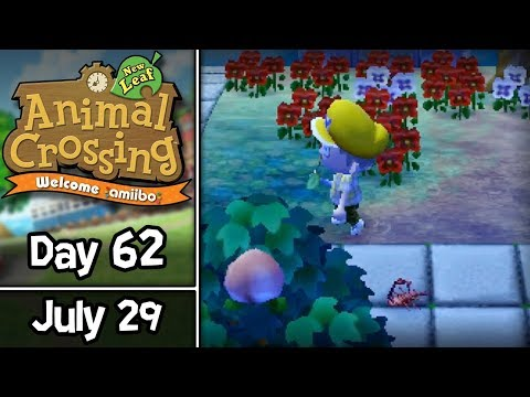 Animal Crossing: New Leaf, Day 62: I'm Scorpion Trouble! • July 29 • Welcome amiibo Update