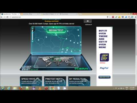 Vodacom Tanzania internet speed test and demo