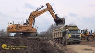 Laden - Liebherr 956 Excavator | Volvo FMX Bas Mining Trucks | Komatsu dozer