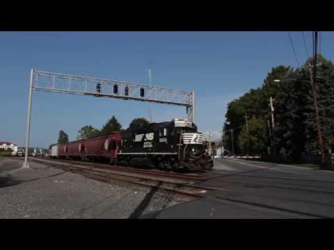 NS Hershey Shifter & Amtrak Keystone Trains