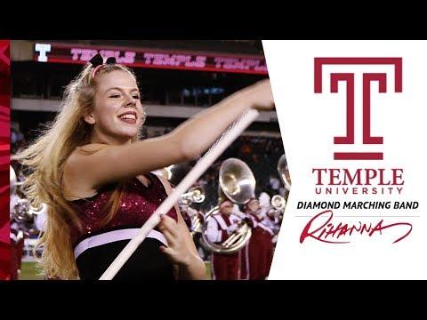 Rihanna Show / Temple University Diamond Marching Band