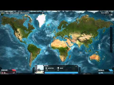 Plague Inc: Evolved - Weird Map Glitch