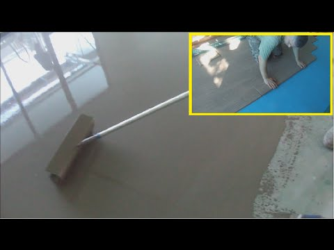Concrete Leveling for Laminate Floor Installation 10 Steps Installing Laminate Flooring How-to DIY