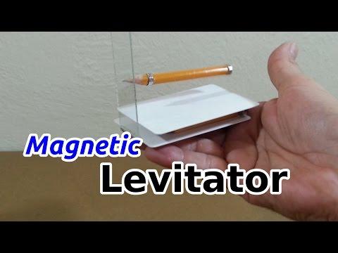 Make a Mini Magnetic Levitator