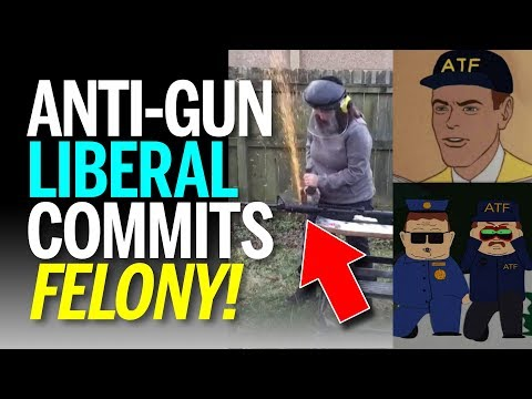 Anti-Gun Liberal Saws Off AR-15 Barrel on Camera, Creating Illegal SBR, ATF Notices (REACTION)