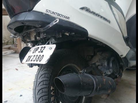 How To Install Pulsar 135 Number Plate Bracket in Honda Aviator(2011)