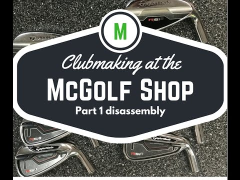 club making techniques pt 1, how to build a golf club