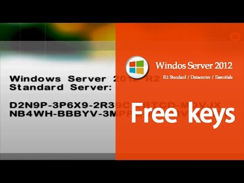 Windows Server 2012 Product Key Activation[R2 Standard/Datacenter/Essentials/Crack serial number]