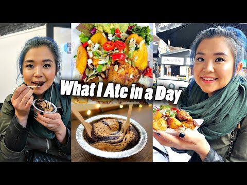 WHAT I ATE IN A DAY (Vegan) in London