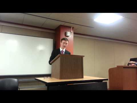 Indiana University College Republicans vs. College Democrats debate (Closing statements)
