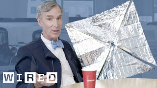 Bill Nye Explains the Science Behind Solar Sails | WIRED