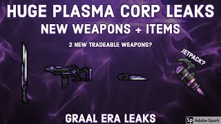 Download HUGE NEW PLASMA CORP LEAKS! NEW TRADEABLE WEAPONS, JETPACK AND MORE! Video