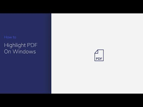 Highlight PDF on Windows with PDFelement