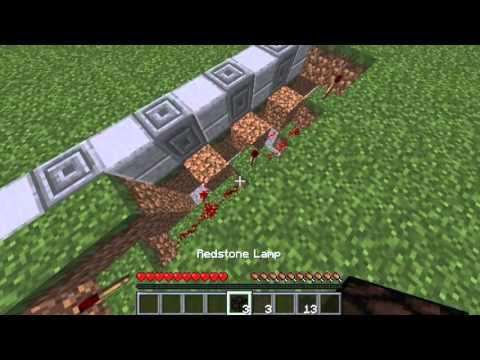 ✔ Minecraft: How to make Night Lights (Using Daylight Sensor)
