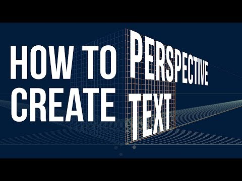 How to Create Perspective Text in Illustrator