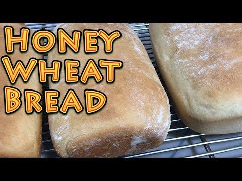 Honey Wheat Bread EASY