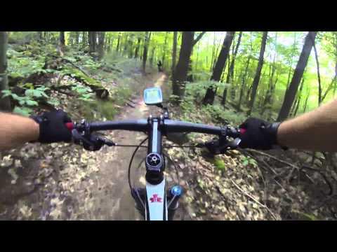 Cannonsburg State Game Area - Mountain Bike - Single track