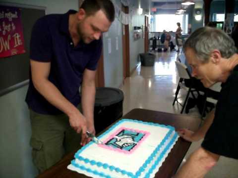 Cake Cutting Demonstration