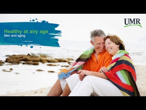 Healthy at any age - Men and aging