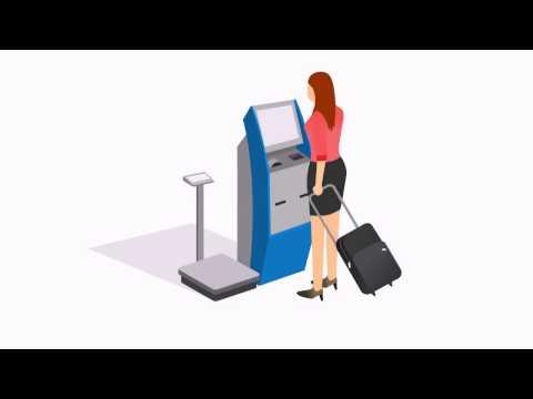 Checkin Seat and Baggage at Kiosk and Self Bagdrop